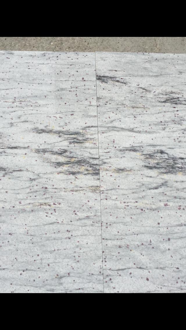 River White 61x30,5cm,40x40cm fényes gránit   Azonnal Elérhető