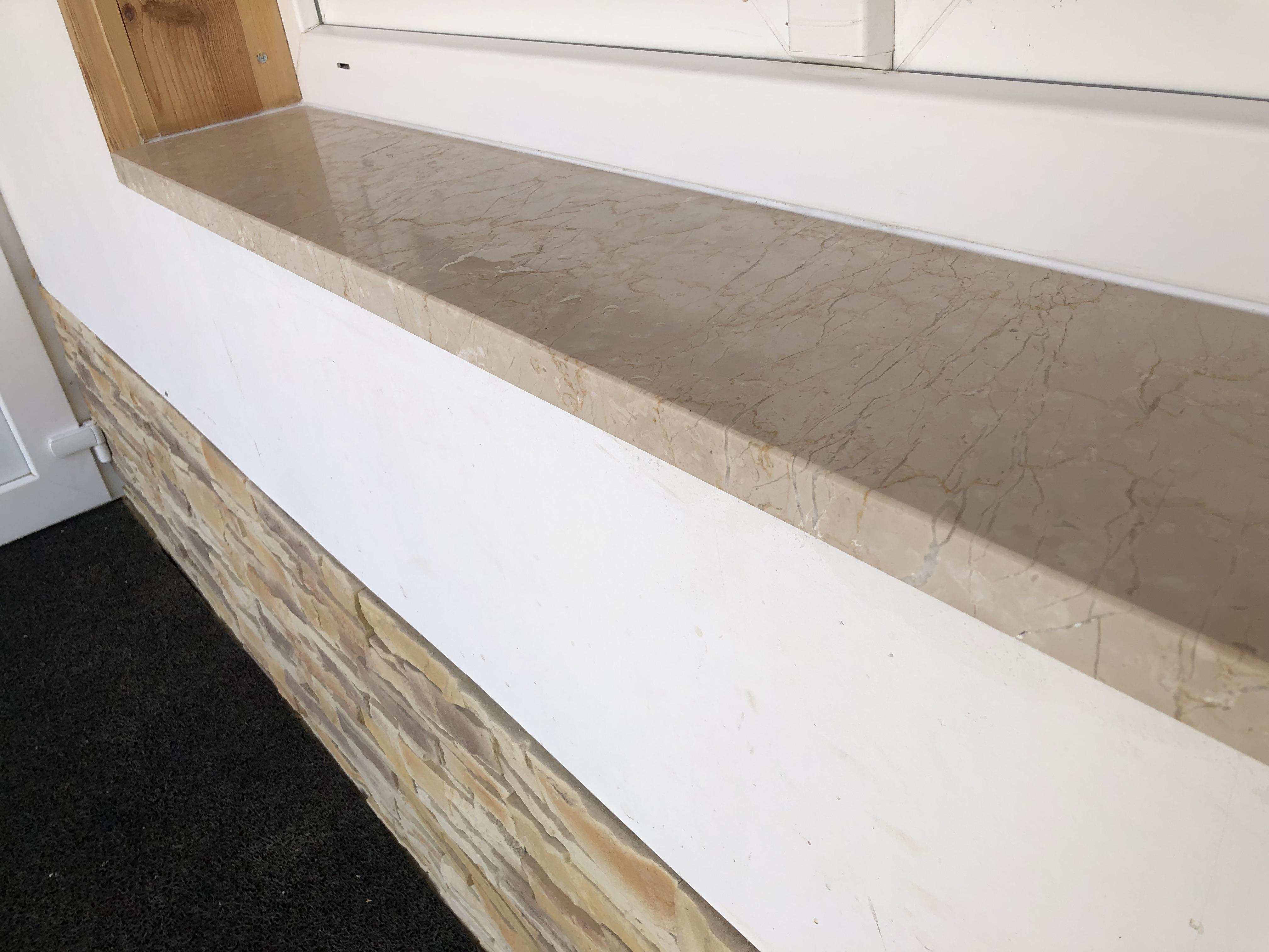 Botticino x3cm vastagság, selyemfényű felülettel, oldal és élmegmunkálással, igény esetén vízorbevágással!