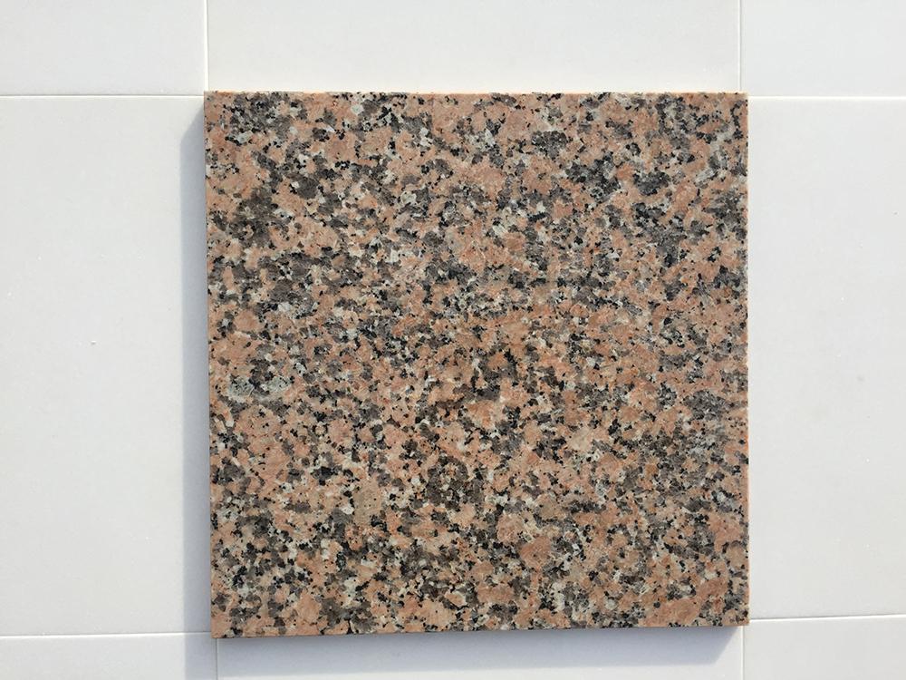 Rosa Porrino Fényes Gránit 30,5×30,5×1 cm  Azonnal Elérhető
