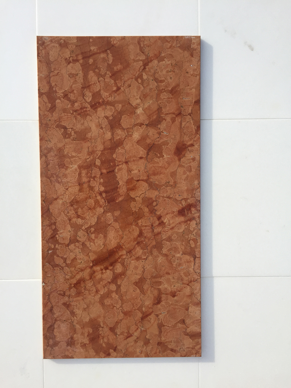 Rosso Verona Fényes Márvány 61×30,5×1 cm  Azonnal Elérhető