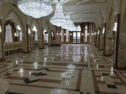Márvány padló <br>Borostyán Med Hotel